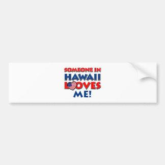 HAWAII designs love designs Bumper Sticker
