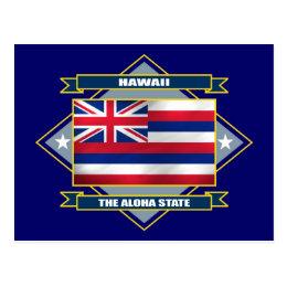 Hawaii Diamond Postcard