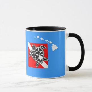 Hawaii Dive Flag Mug