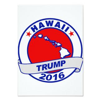 """Hawaii Donald Trump 2016.png Invitación 5"""" X 7"""""""