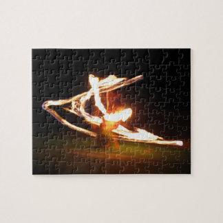 Hawaii Fire Dance Jigsaw Puzzle