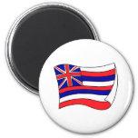 Hawaii Flag 2 Inch Round Magnet