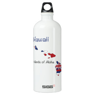 Hawaii Flag and Map SIGG Traveler 1.0L Water Bottle