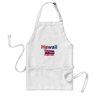 Hawaii Flag Adult Apron
