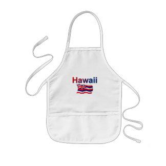 Hawaii Flag Kids' Apron