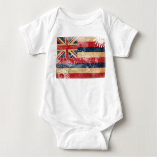 Hawaii Flag Baby Bodysuit