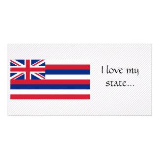 Hawaii Flag Card