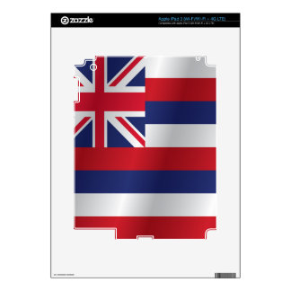 Hawaii flag decal for iPad 3