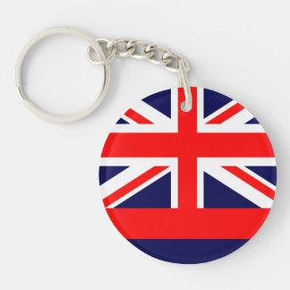 HAWAII Flag Design - Keychain