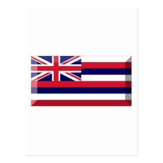 Hawaii Flag Gem Postcard