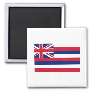 Hawaii FLAG International 2 Inch Square Magnet