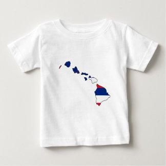 Hawaii Flag Map Infant T-shirt