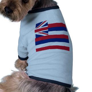 Hawaii Flag Pet Tee Shirt