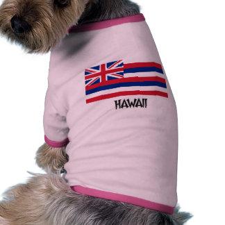 Hawaii Flag Pet Tshirt