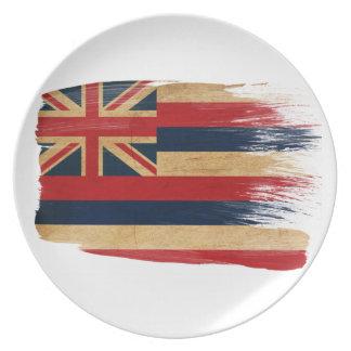 Hawaii Flag Plates