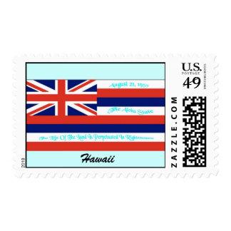 Hawaii Flag Postage