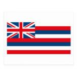 Hawaii Flag Postcard