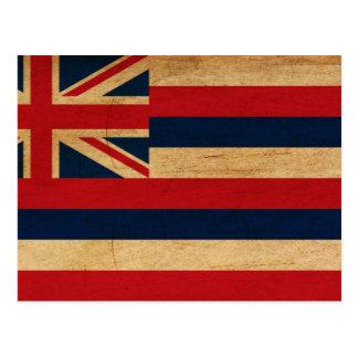 Hawaii Flag Post Card