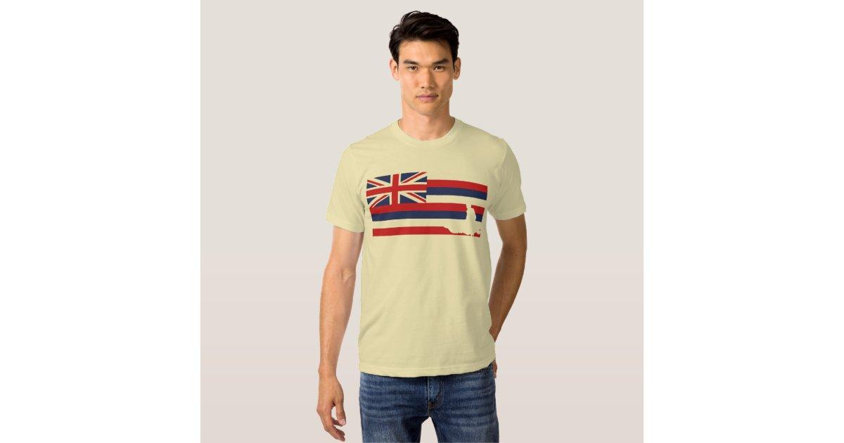 Hawaii flag t shirt jetski zazzle for Hawaii 5 0 t shirt