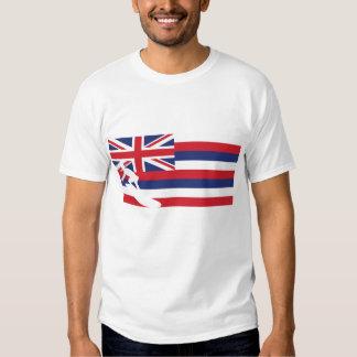 Hawaii Flag T-Shirt - Surfing - Surfer
