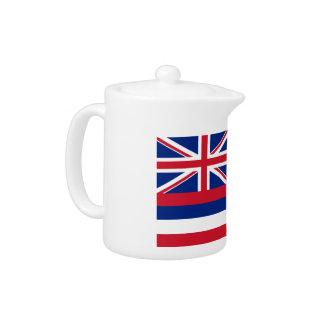 Hawaii Flag Teapot