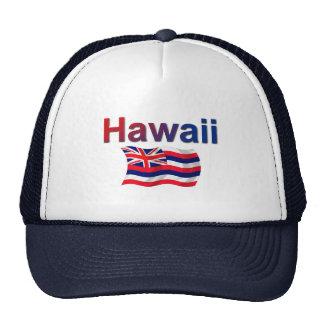 Hawaii Flag Trucker Hat