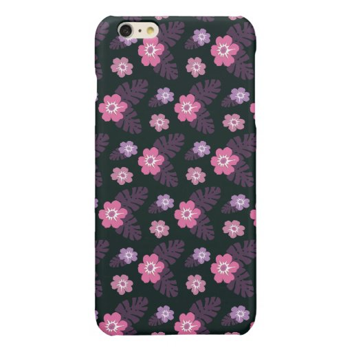 HAWAII FLORAL GLOSSY iPhone 6 PLUS CASE