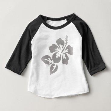 Hawaiian Themed Hawaii Flower Baby T-Shirt