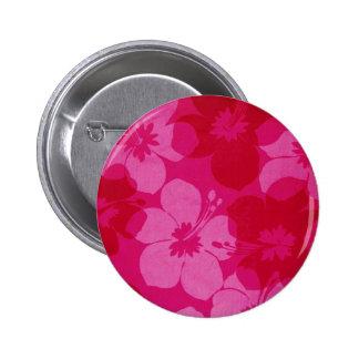 Hawaii flower buttons