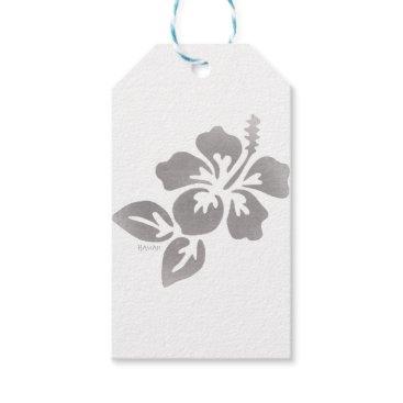 Hawaiian Themed Hawaii Flower Gift Tags