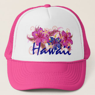 Hawaii flower hat
