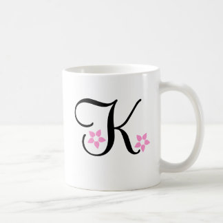 "Hawaii Flower Mug ""K"""