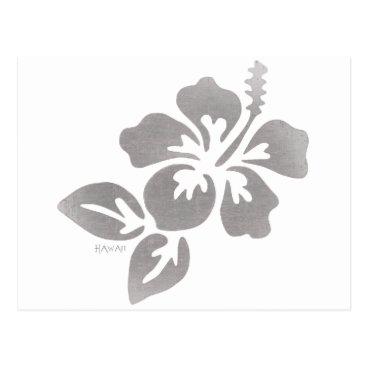 Hawaiian Themed Hawaii Flower Postcard