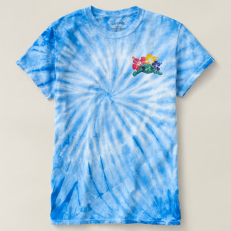 Hawaii Flowers and a turtle T-shirt
