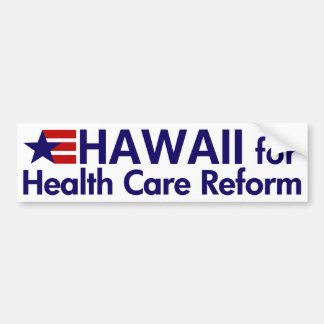 Hawaii for Health Care Bumper Sticker