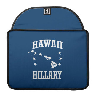 HAWAII FOR HILLARY SLEEVE FOR MacBook PRO