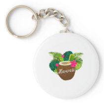 Hawaii for Men Women and Kids Keychain