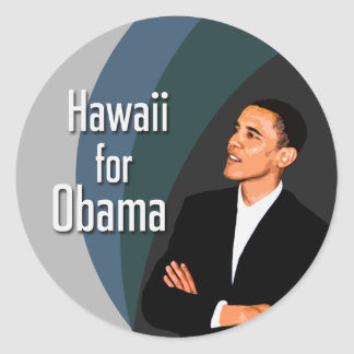Hawaii for Obama Stickers