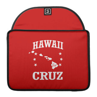 HAWAII FOR TED CRUZ SLEEVES FOR MacBook PRO