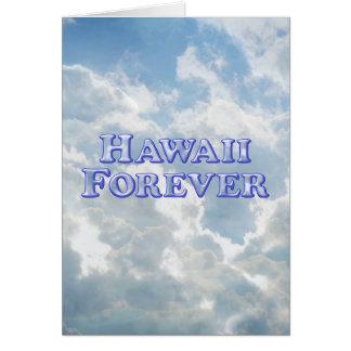 Hawaii Forever - Bevel Basic Card