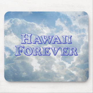 Hawaii Forever - Bevel Basic Mouse Pad