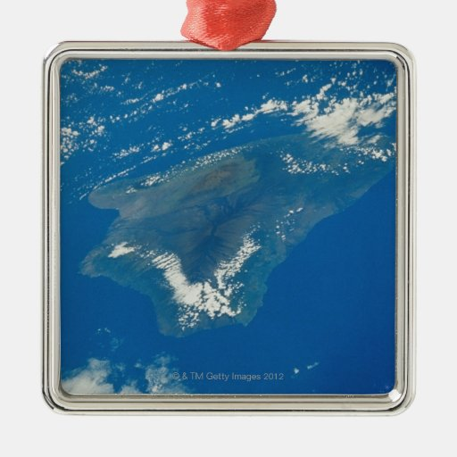 Hawaii from Space Ornament