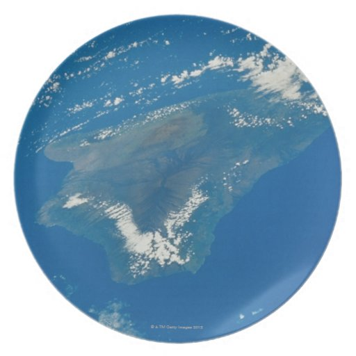 Hawaii from Space Plates