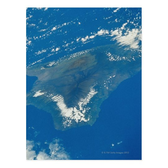 Hawaii from Space Postcard