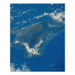 Hawaii from Space Print