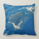 Hawaii from Space Throw Pillow