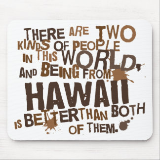 Hawaii (Funny) Gift Mouse Pad