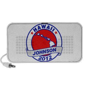 Hawaii Gary Johnson Mp3 Speakers