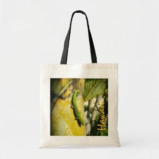 Hawaii gecko tree reusable souvenir bag