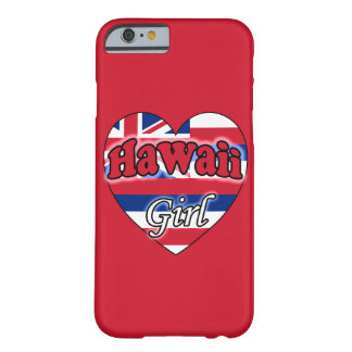 Hawaii Girl Barely There iPhone 6 Case